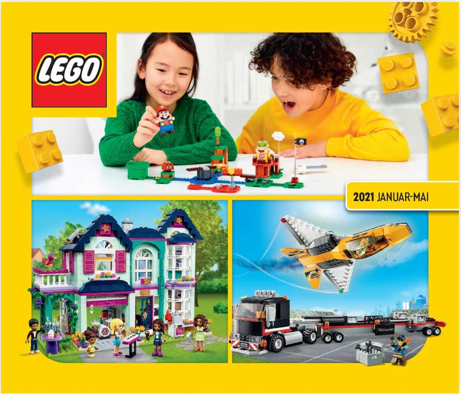 LEGO Katalog nr 1 i 2021