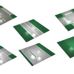 LEGO veier - Grønne