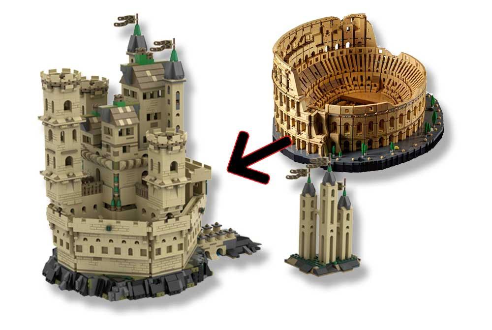 Alternativ bygg til 10276 Colosseum