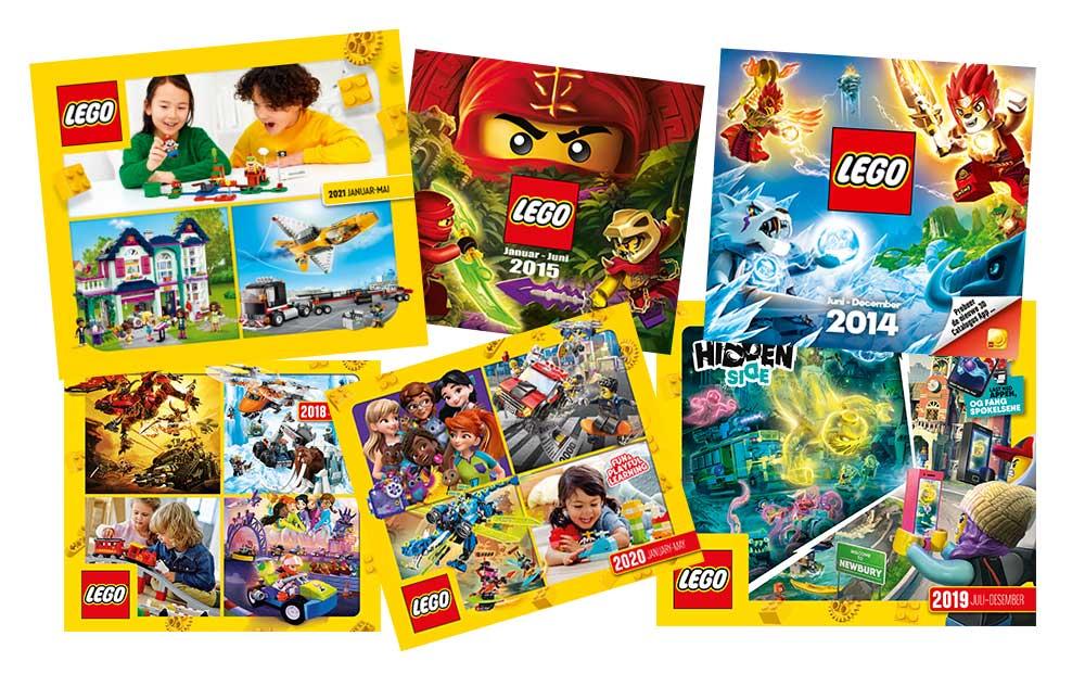 LEGO kataloger