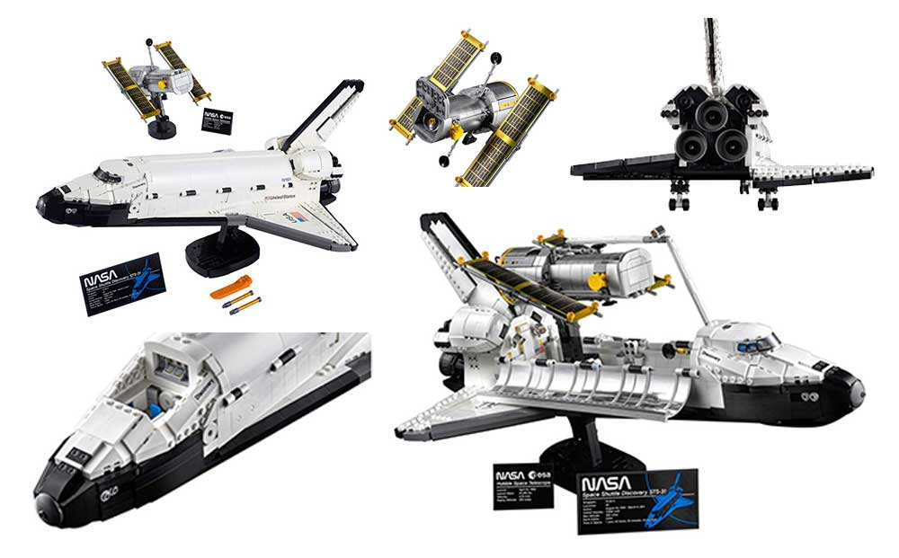 10283 NASA Space Shuttle Discovery