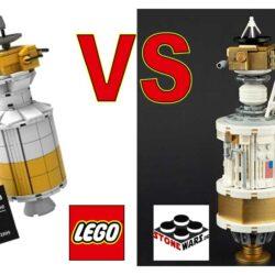 Ulysses Space Probe - LEGO VIP vs StoneWars