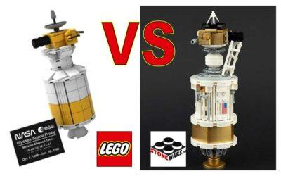 Ulysses Space Probe – LEGO VIP vs StoneWars