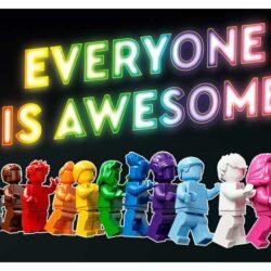40516 - LEGO feirer Pride måned og LGBTQ+