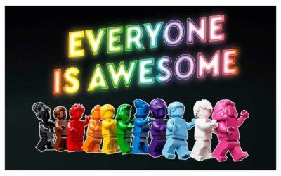 40516 – LEGO feirer Pride måned og LGBTQ+