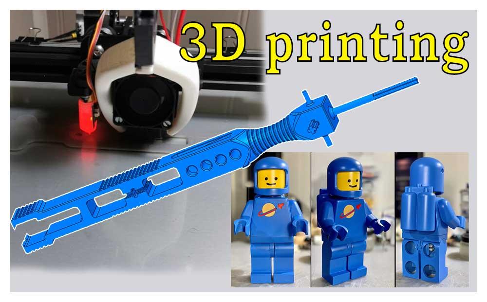 3D printing av LEGO