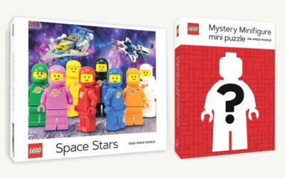 2 nye LEGO puslespill fra Chronicle Books i 2021
