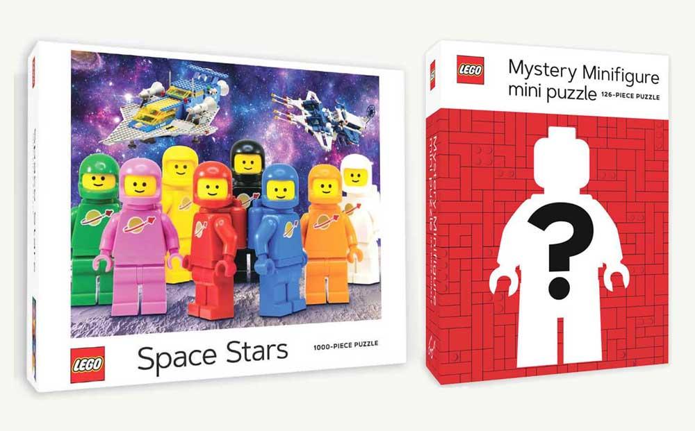 2 nye LEGO puslespill
