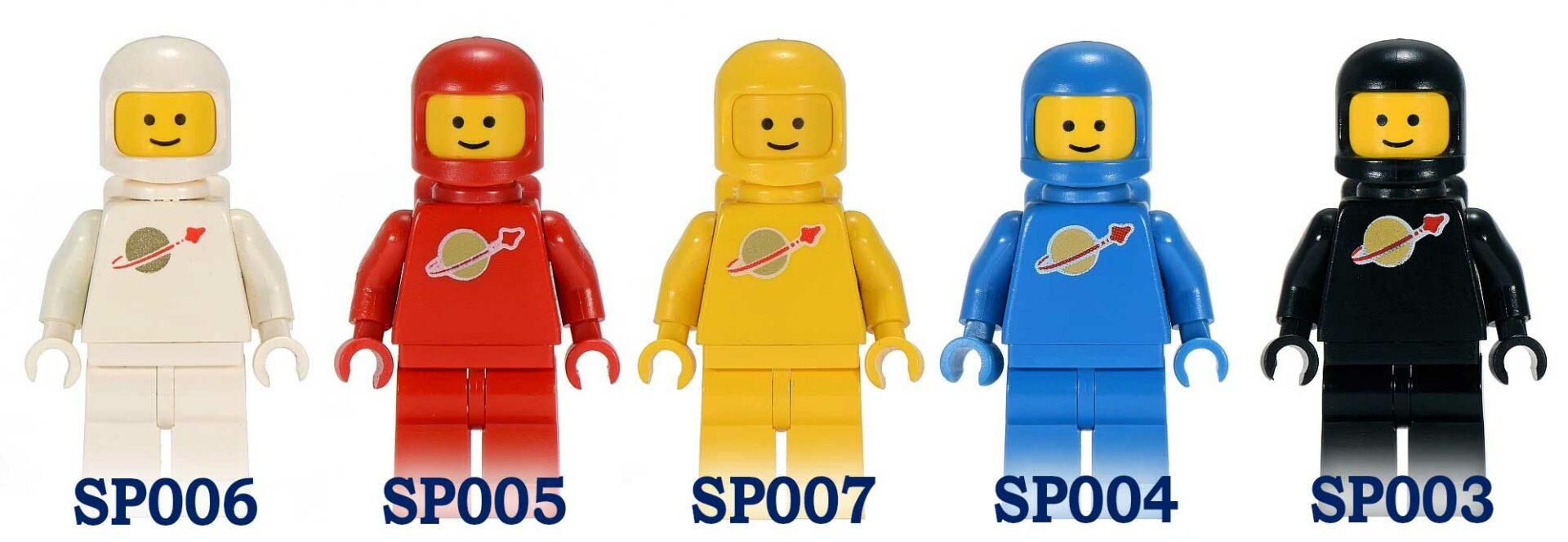 Space minifigurer