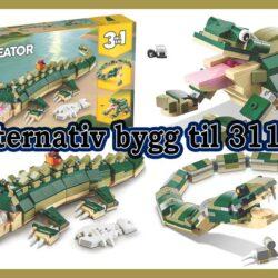 Alternativ bygg til 31121 Krokodille