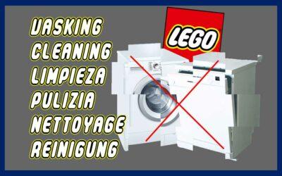 Vasking av LEGO