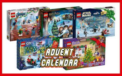 2021 LEGO julekalendere