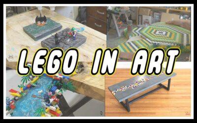 Å bruke LEGO til kunst