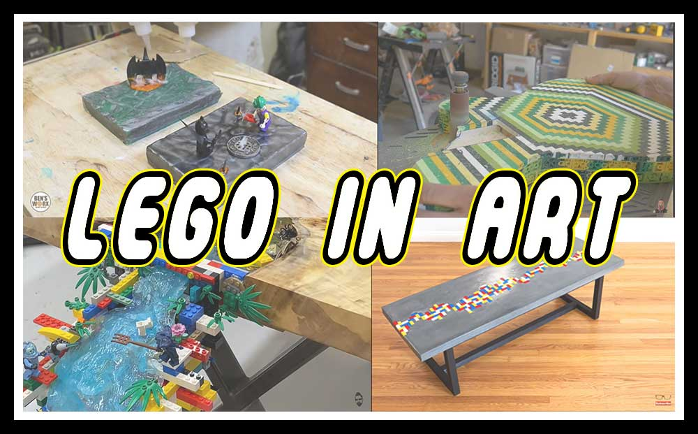 LEGO til kunst
