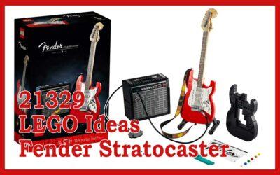 21329 LEGO® Ideas Fender® Stratocaster™