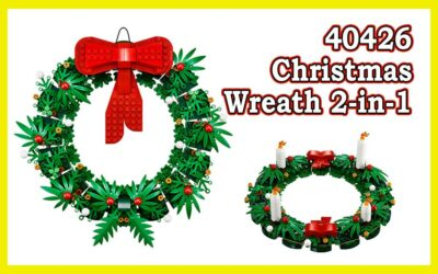 40426 Christmas Wreath 2-in-1