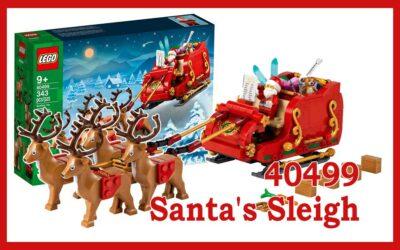 40499 Julenissens slede – Santa's Sleigh