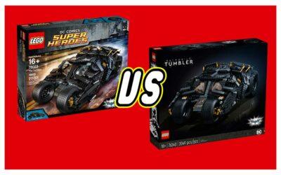 76240 Batmobile Tumbler vs 76023 The Tumbler