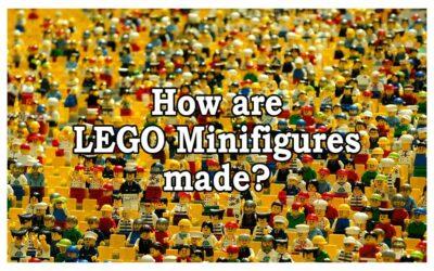 Hvordan blir minifigurene laget?