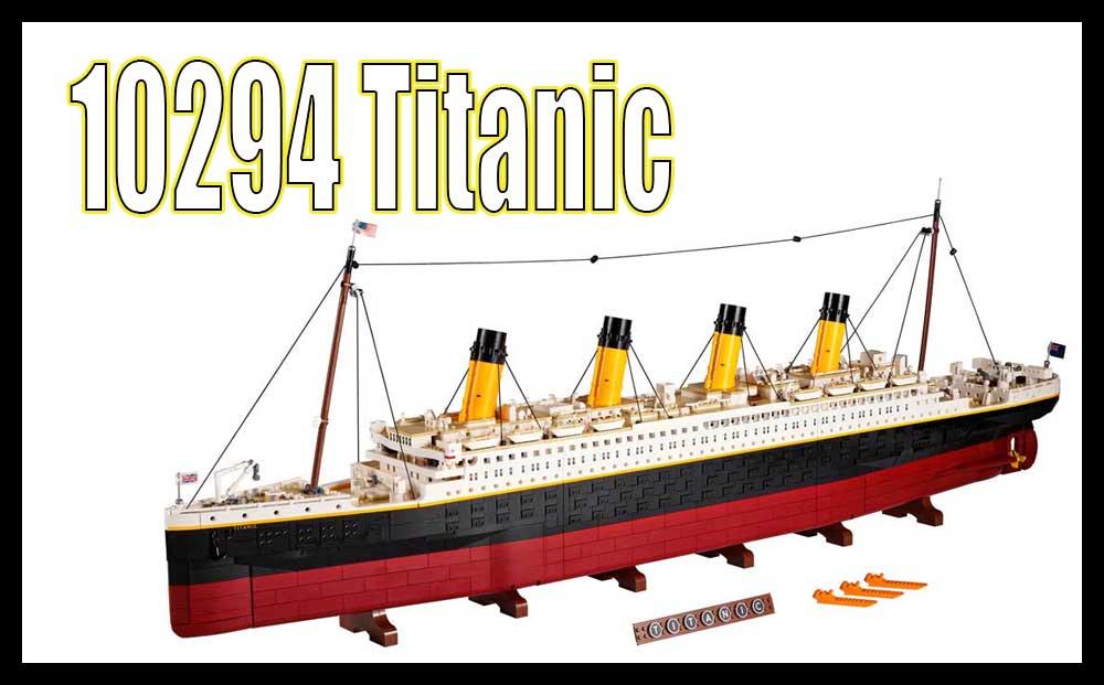10294 LEGO Titanic