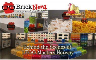 Bak kulissene i LEGO Masters Norge