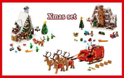 Hvilke jule sett selger LEGO nå?