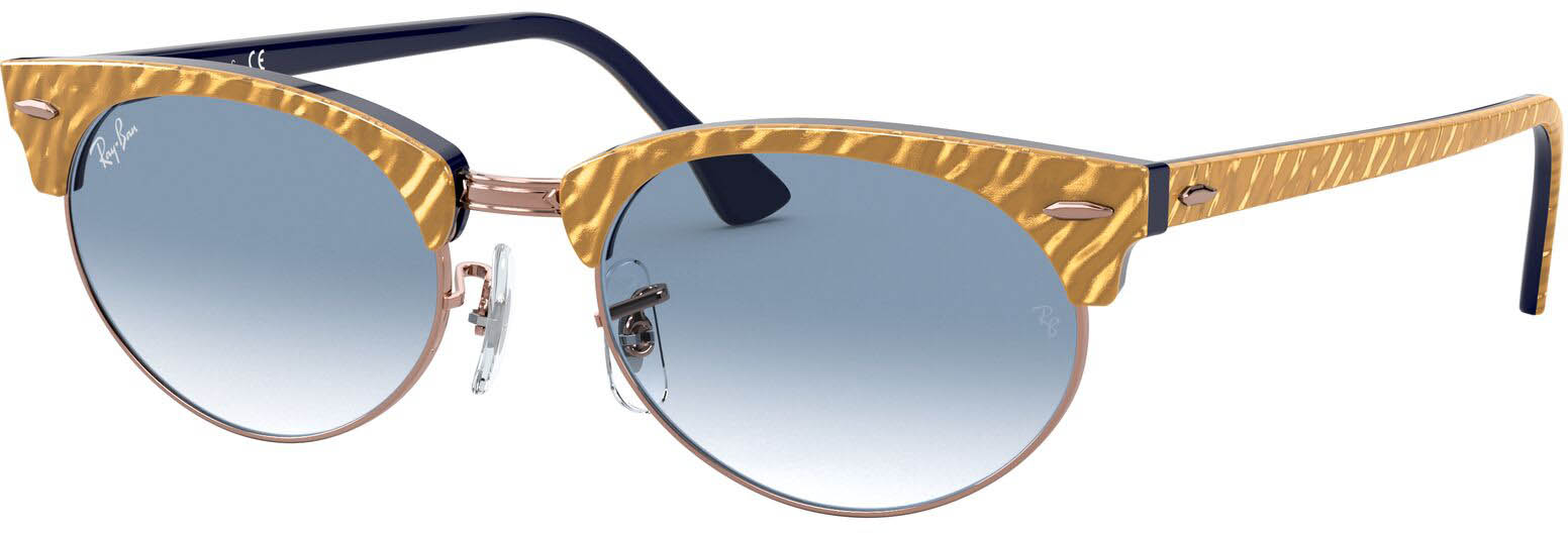 Ray-Ban Clubmaster Oval RB3946-13063F-52 | 8056597243469