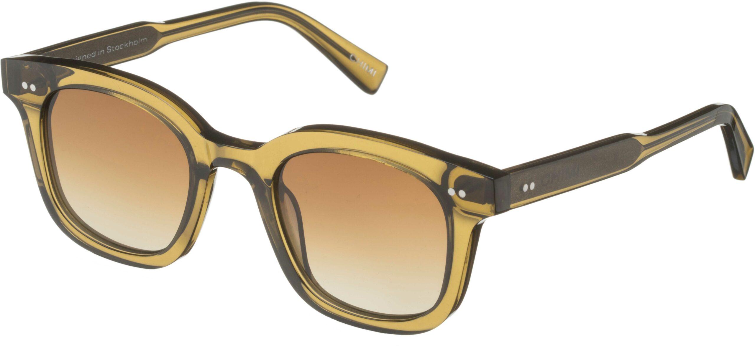 Chimi Eyewear #02 Green/Gradient Brown | 7340192604352