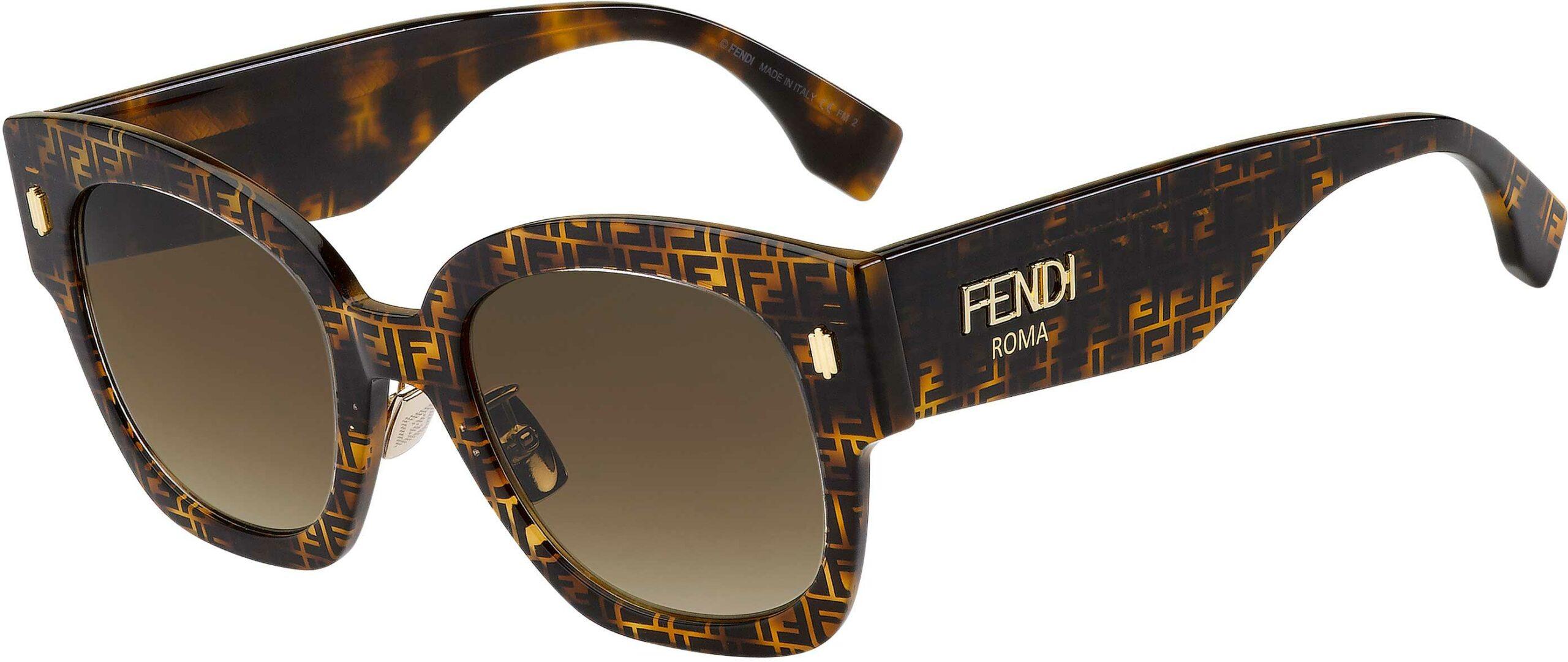 Fendi FF 0458/G/S 204067-2VM/HA-52 | 716736390123