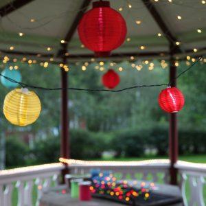 Slingor och dekoration