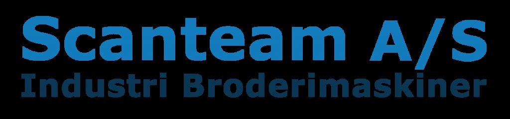 Logo Scanteam Broderimaskiner