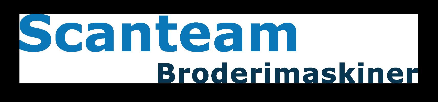 Logo Scanteam Broderimaskiner k3c