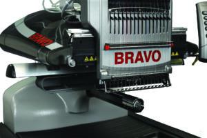 Melco Bravo Broderemaskine Scanteam Broderimaskiner