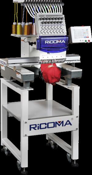 Ricoma TC-8S Industri Broderimaskine Scanteam Broderimaskiner