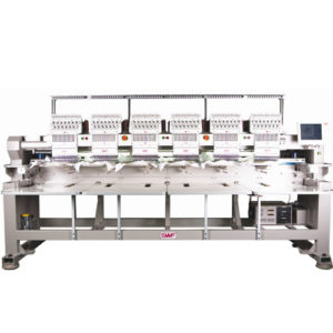 SWF K-UK1206 multi-6 Industri Broderimaskine Scanteam Broderimaskiner