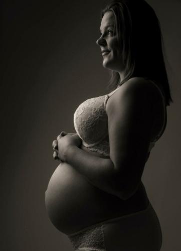 Gravid - graviditetsbilleder - Fotograf Holstebro - Broe Foto