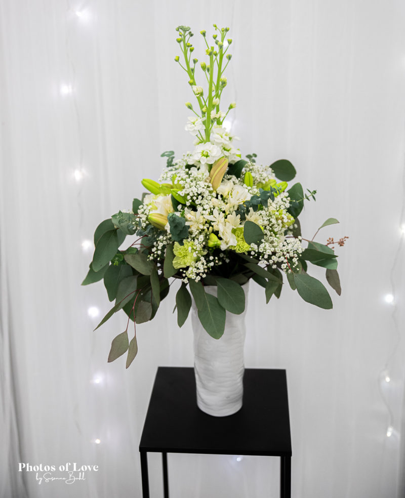 elegant buket bryllup