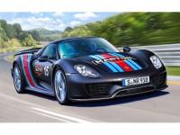 """REV07027 Porsche 918 """"Weissach Sport"""" Plastic Kit"""