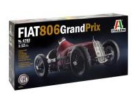 ITA4702 Fiat 806 Grand Prix Plastic Kit