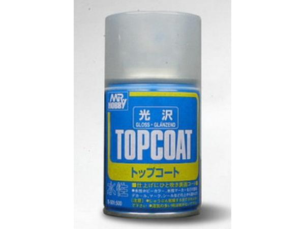 MRHB501 Mr Top Coat Gloss spray (86 ml) Paint Material