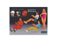 FUJ110042 Drivers Figures Plastic Kit