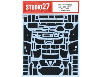 STU27CD24019 Alfa 155 V6 T1 ITC 1996 carbon decal Waterslide decal Decal