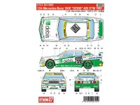 STU27DC1009 Mercedes 190E  DEBIS  #20  DTM 1990 Waterslide decal Decal