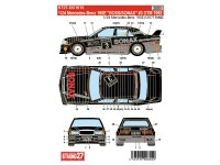 STU27DC1015 Mercedes 190E  BOSS/SONAX  #3  DTM 1992 Waterslide decal Decal