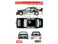 STU27DC1016 Mercedes 190E  AMG-TABAC/SONAX  #12  DTM 1993 Waterslide decal Decal