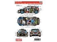 STU27DC1105 Ford Fiesta WRC  #43  Monza Rally Show  2014 Ken Block Waterslide decal Decal