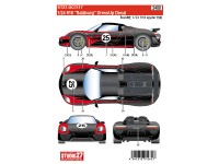"STU27DC1117 Porsche 918  ""Salzburg""  dressup decal Waterslide decal Decal"