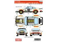 """STU27DC983 Porsche 934  """"Lubrifilm"""" #82  LM 1979 Waterslide decal Decal"""