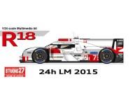 STU27FD24013 Audi R18 e-tron  quattro  LM 2015 Multimedia Kit
