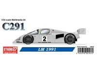 STU27FK24116 Mercedes C291  #2  LM 1991 Multimedia Kit